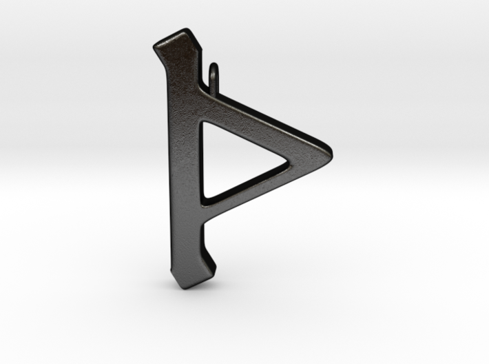 Rune Pendant - Þorn 3d printed