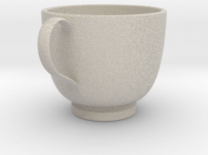 Turkish Coffee Cup 3d printed