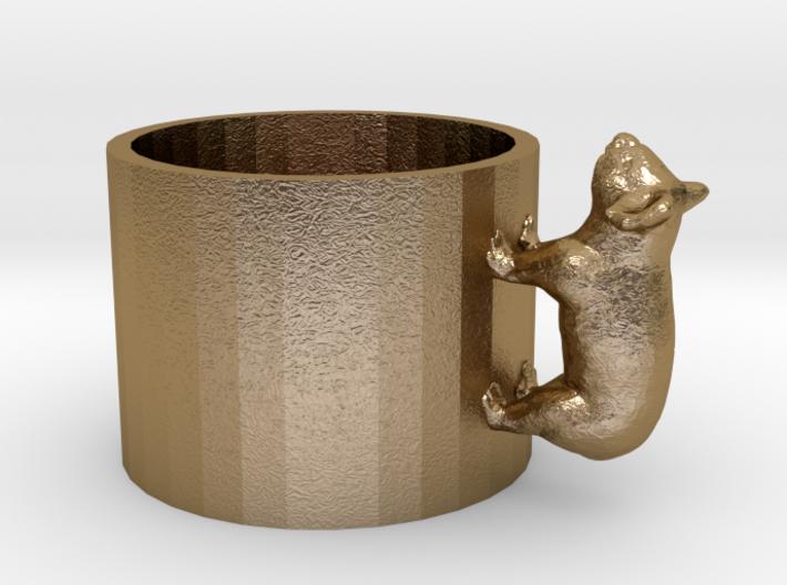 Small Koala Cup-porcelain Shapeways Test 3d printed