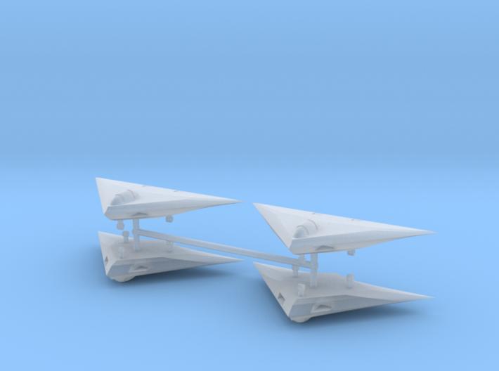 1/600 A-12 Avenger (x4) 3d printed