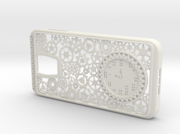 Steampunk Clock Galaxy S5 Case 3d printed