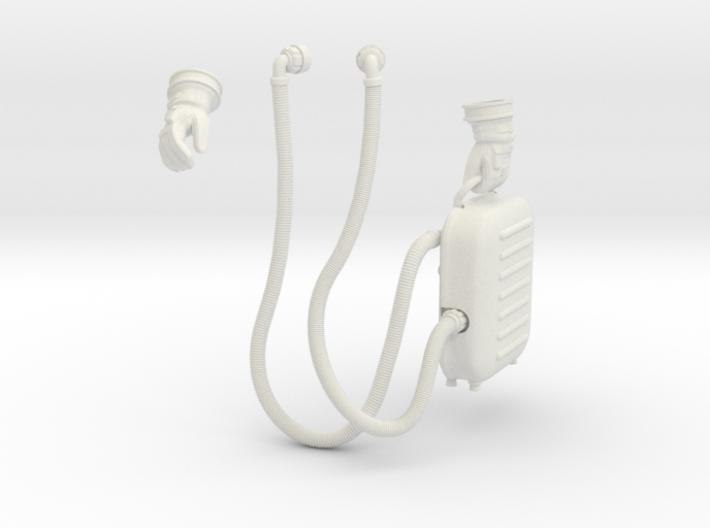 Gemini Astronaut Parts / 1:6 / Walking Version 3d printed