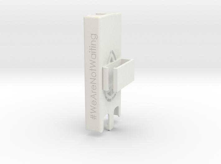 Dexcom Case w/Rotated Belt Clip SLIM 3d printed Dexcom case with belt clip