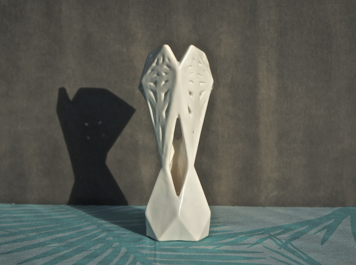 Facets 3d printed