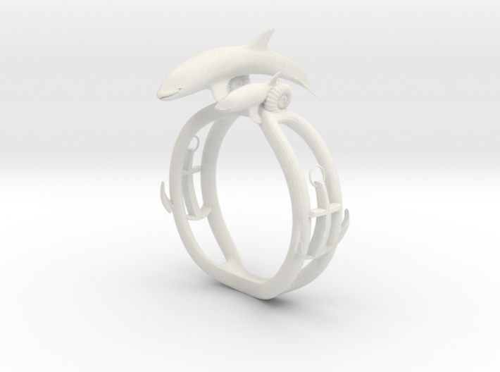 Parent and child of a killer whale(USA 6.5,Japan 1 3d printed