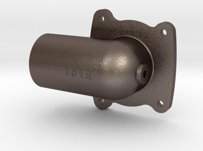 F101 Cinder Dump Blower Attachment 8 3d printed