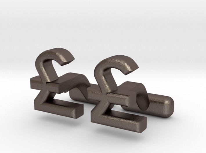GBP Great British Pound, Money Collection 3d printed