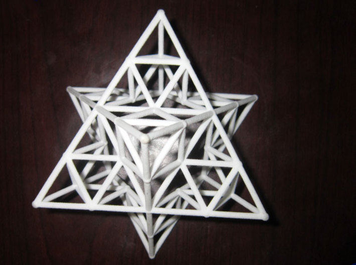 Rod Merkaba Lattice OpenBase - 6cm 3d printed