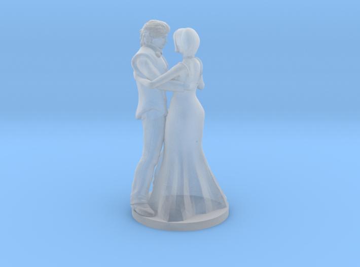 Couple Dancing 3d printed