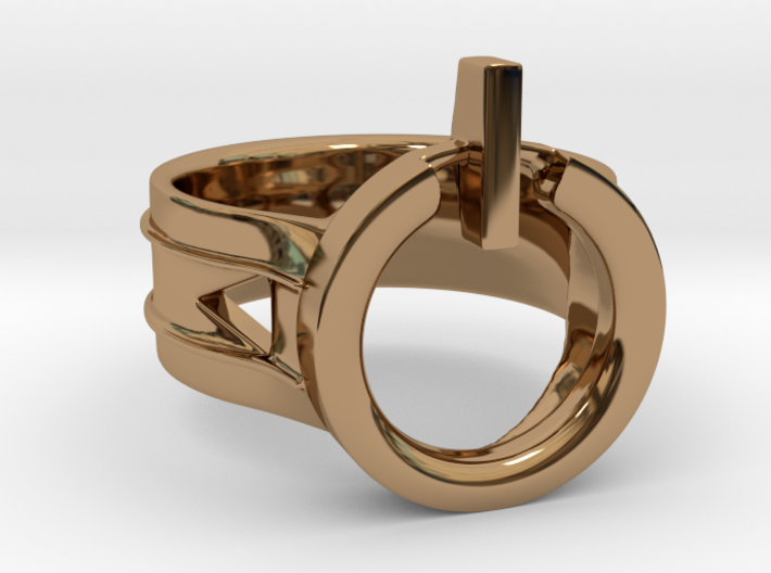 Power Ring Size 11 3d printed