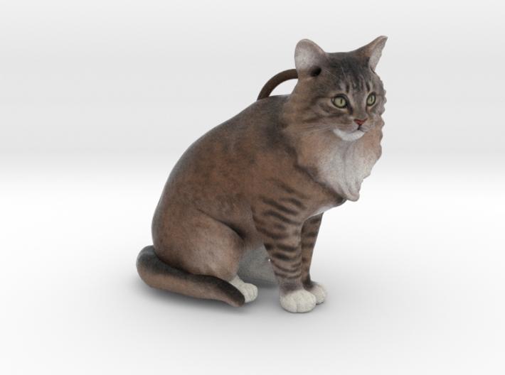 Custom Cat Ornament - Rue 3d printed