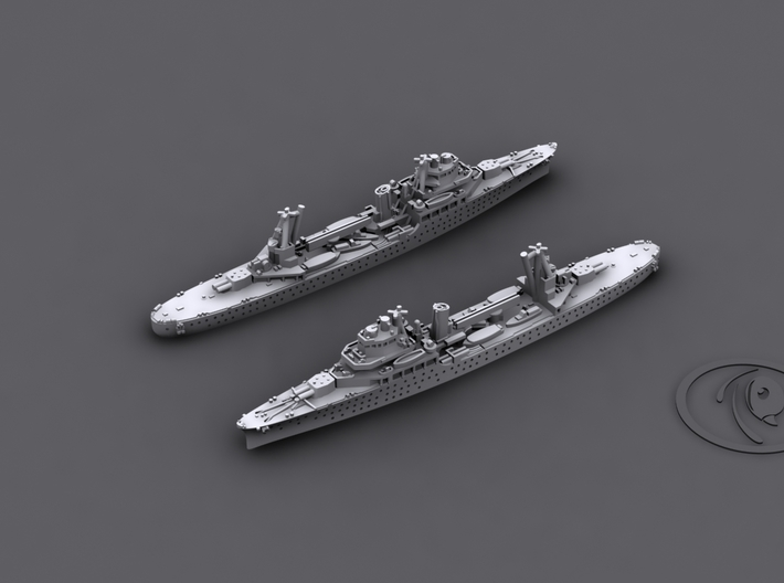 1/1800 IJN CL Kashima[1942] 3d printed Computer software render