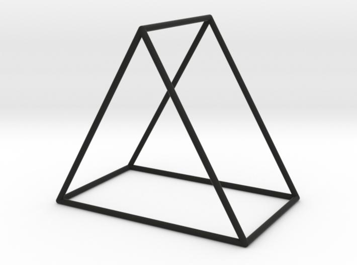 Triangle Bracelet - Large 3d printed