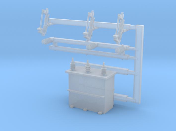 TRANSFORMER-64 3d printed