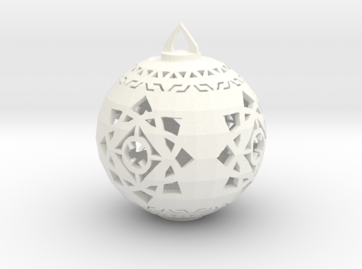 Scifi Ornament 1 3d printed