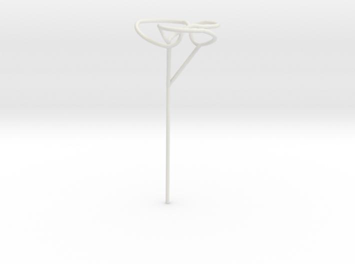 Trefoil bubble seifert wand 3d printed