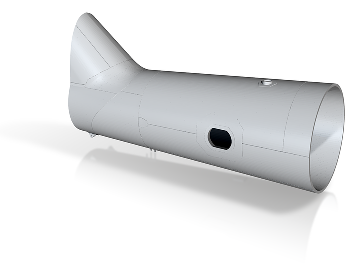 1/35 Mi-6 fuselage part7 3d printed