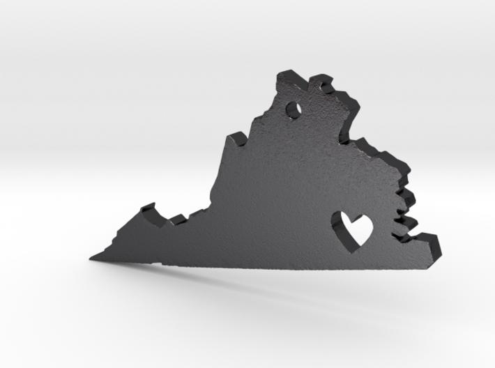 I love Virginia Pendant 3d printed