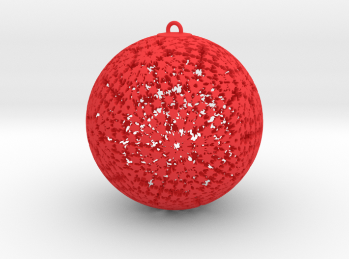 Pow Wow Ornament 3d printed