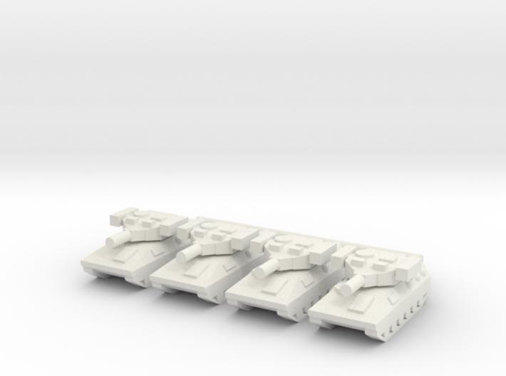 1/285 Type 89 IFV (x4) 3d printed