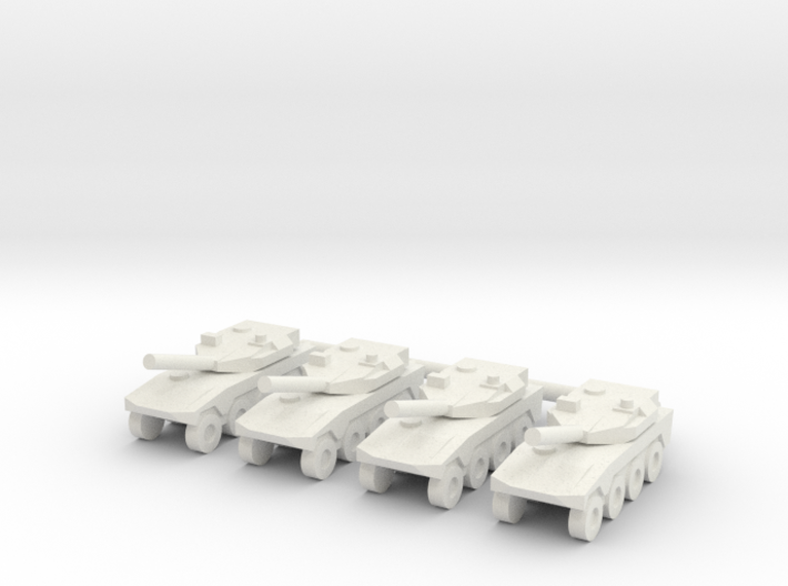 1/285 Maneuver Combat Vehicle (x4) 3d printed
