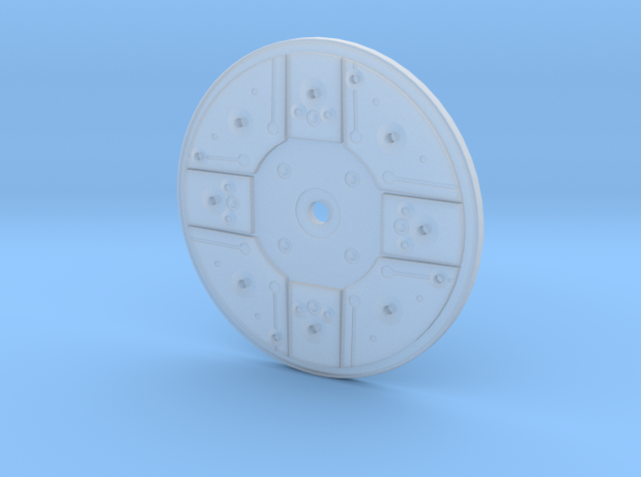 Y Wing Left Side Disk 2 Inch 3d printed