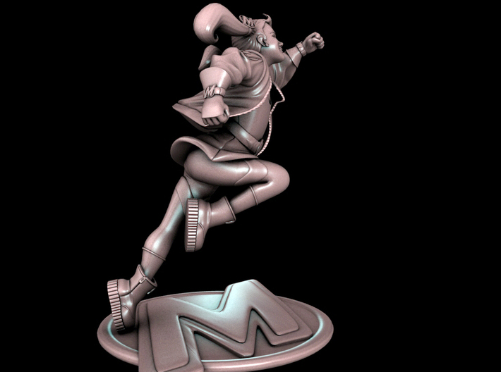 Molly Danger 4inch Tall figure 3d printed