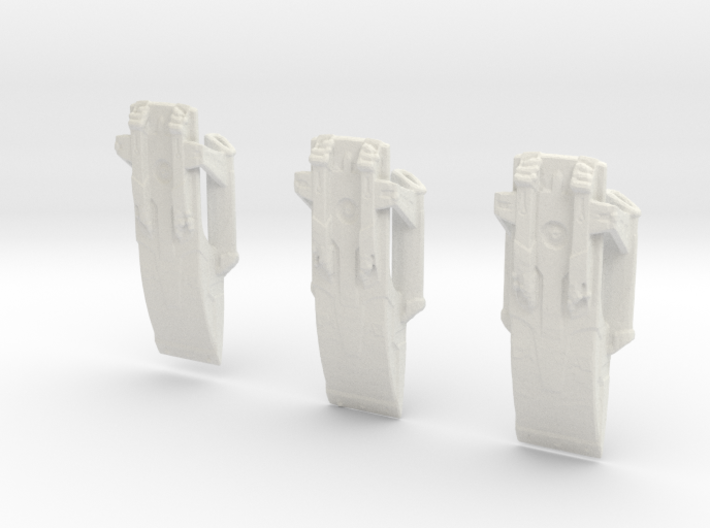 Mammoth Class Prototypex3 3d printed