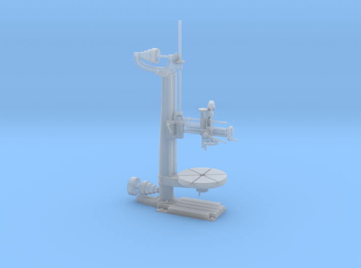 Radial Drill Press O Scale 3d printed