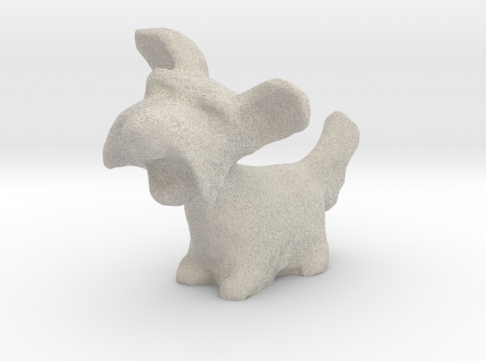 Little Dog  3d printed