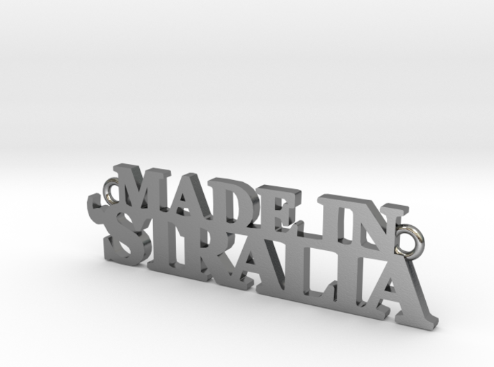 Made in 'STRALIA Pendant 3d printed