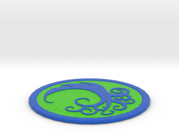 Simic Coaster 3d printed