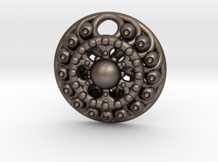Mandala Pendant 4 3d printed