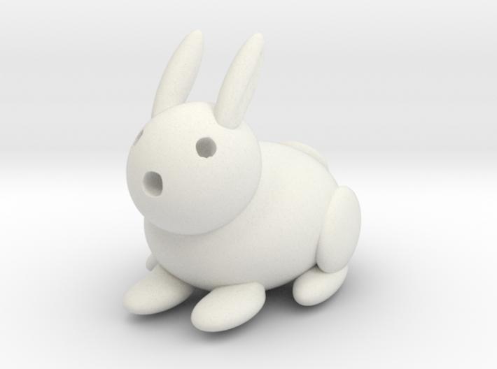 Rabbit (large) 3d printed