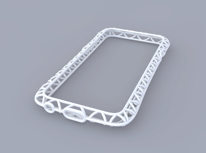 iPhone6/6s​​ Bumper 「truss」 3d printed