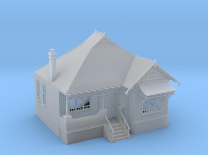 1:87 HO Australian Federation House Design 02 3d printed