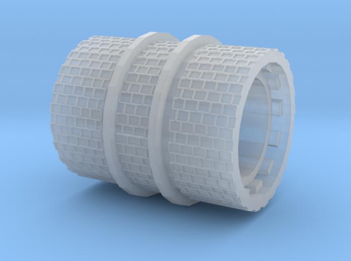 Schmalspurschienen-Walze (Nm 1:160) 3d printed