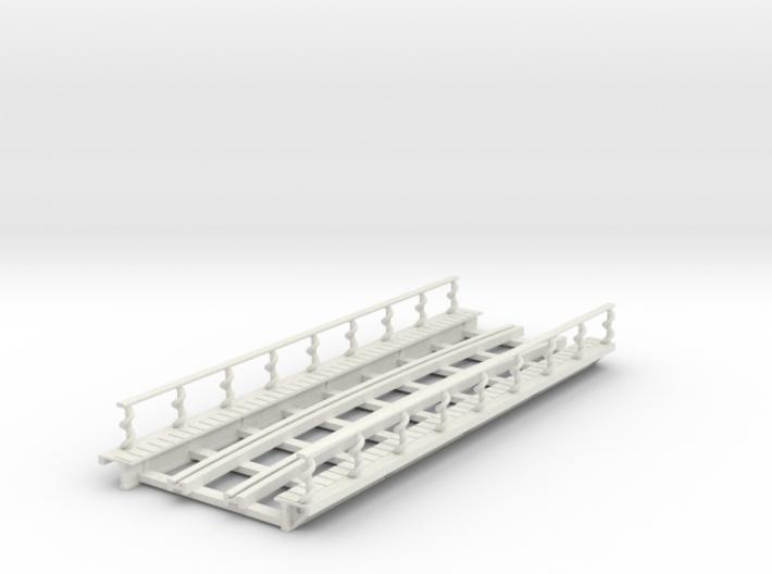 R-165-curve-Y-bridge-track-long-plus-walkway-sp-2a 3d printed