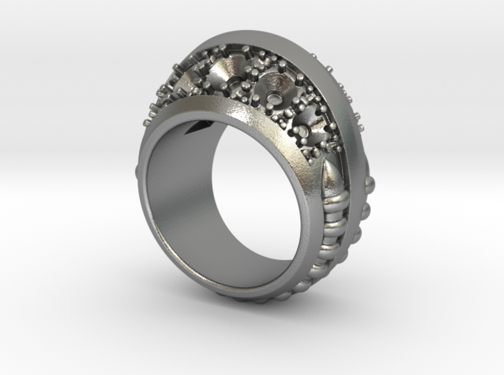 Worm Hole Ring - Size 12 (21.49 mm) 3d printed