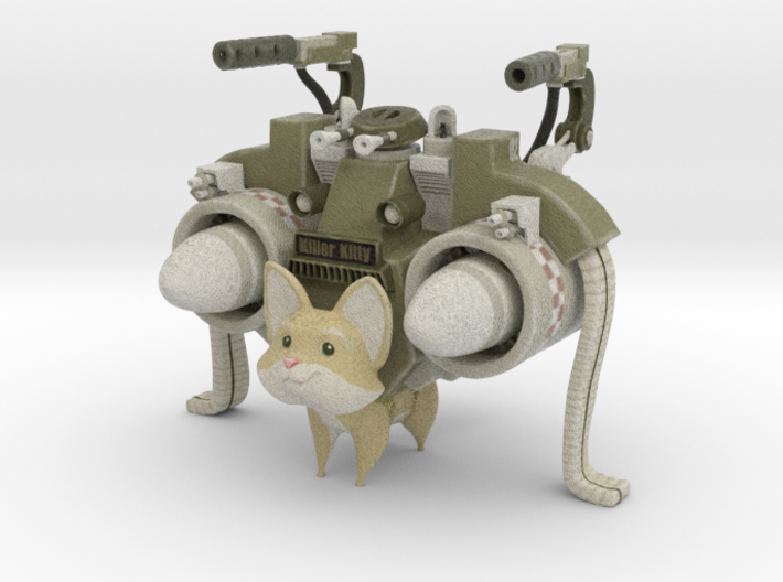 Mathieu Beaulieu's Killer Kitty- Small 3d printed
