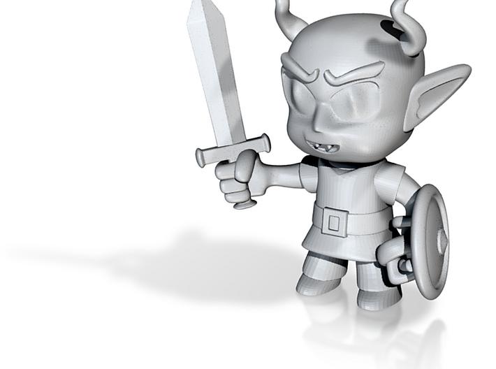 Demonkin Warrior #1 3d printed