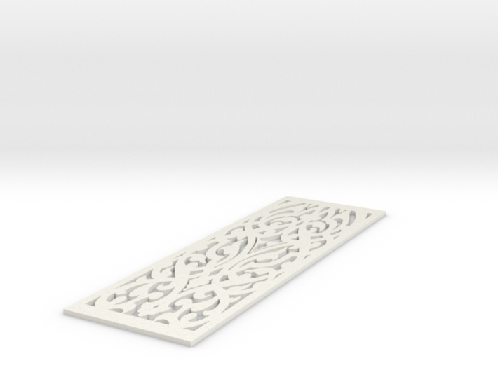 Intricacy Bookmark 3d printed