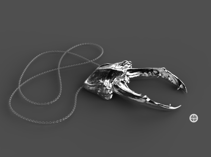 Stag Scarab 3d printed Chain not included