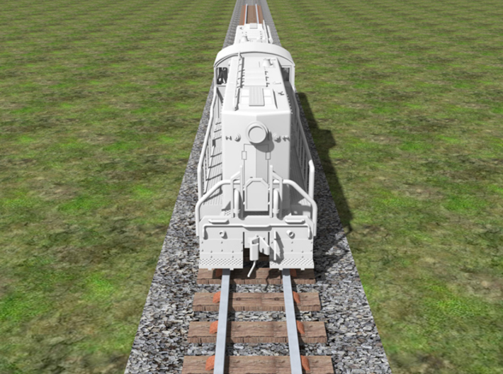Baldwin RT-624 Center Cab N Scale 1:160  3d printed