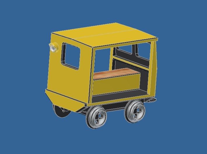 z Gauge 1:220 Fairmont Speeder Typ 2  3d printed Add a caption...