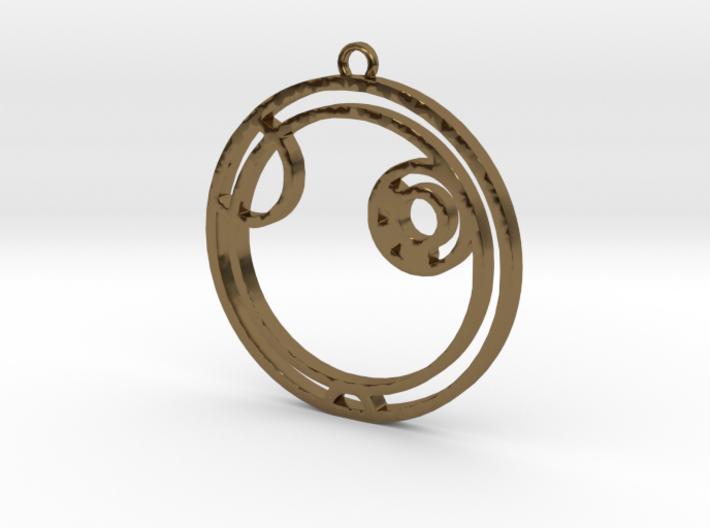 Alex - Necklace 3d printed