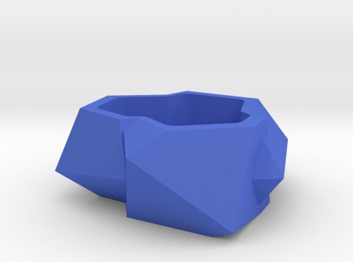 Designer plant pot 3d printed