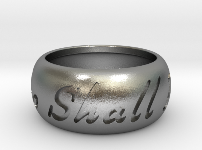 This Too Shall Pass ring size 8 3d printed