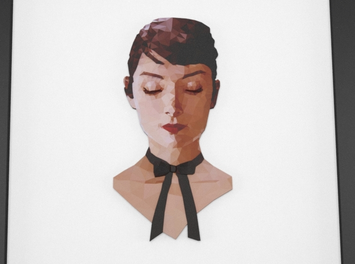 Poly Audrey 3d printed