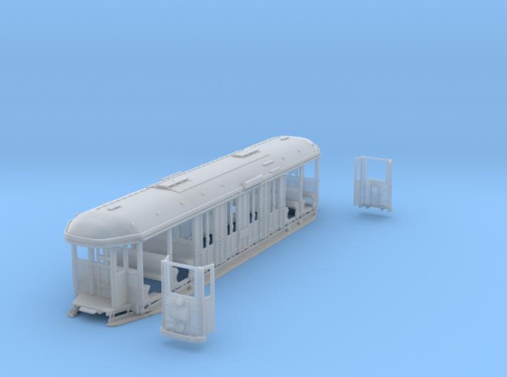 Sydney O Class Tram HO 1:87 3d printed
